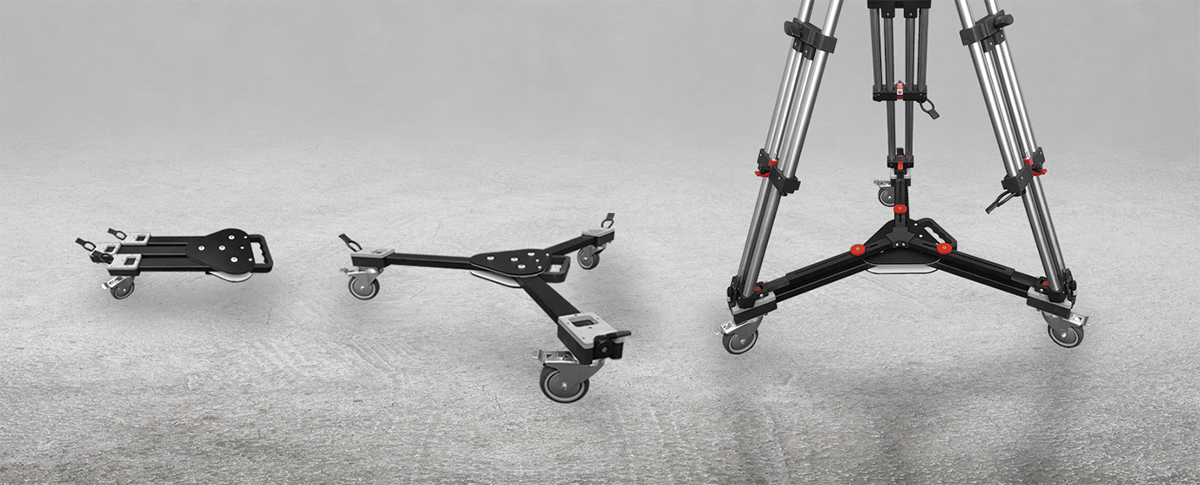 MovieBird Tripod Base with Wheels